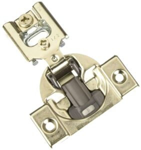 Blum 38N355BE08x20S Compact Soft-Close 0.5 Inch Overlay Blumotion Hinge