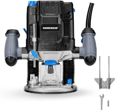 Hammerhead Plunge Woodworking Router Kit